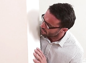 KINKY INLAWS - Writing sisters seduce their stepfather in steamy forbidden fuck