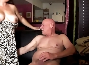Super cute chubby chick loves to suck caddy and eat cum