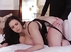 Voluptuous Bbw Anastasia lux fucks married man in her lingerie