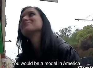 Public Pickup Girl Seduces Tourist Be expeditious for A good Fuck And Dosh Thirty