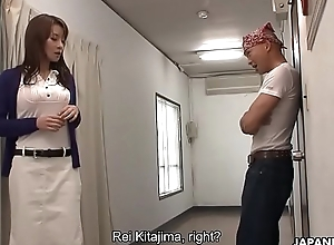 Rei Kitajima had involving fuck the dude involving keep his mouth shut