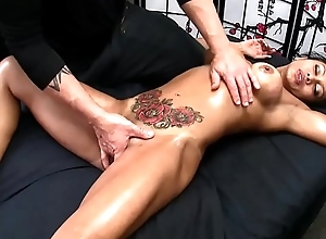 Sexy Oriental gets Erotic Rub down and Happy Success
