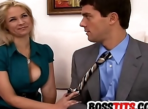 Busty blonde Sarah Vandella gets dicked