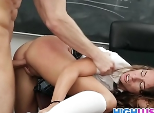 Troublemaker Cassidy Klein Gets Fucked