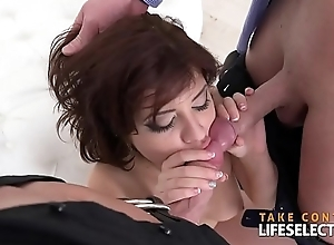 Angelin Blessedness - Pleasing Two Cocks