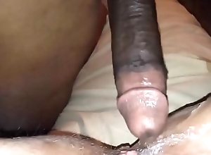 BBC Ramming a White Muff to a Squirting Orgasm