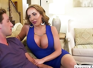 MILF Richelle Ryan needs juvenile cock! Naughty America
