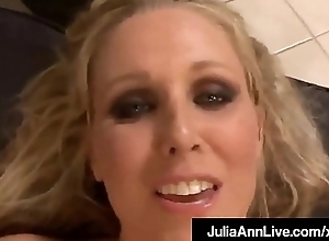 Frying Hot Milf Julia Ann Gets Doggy &amp_ Titty Fucked By A Cock