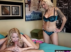 Stepmom teachs Alina West anal