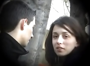 Bulgarian Sexy &amp_ Hot Brunette from Plovdiv Scenic route Boyfriends Cock on Bench Kissing Licking &amp_ Fondling - Fortuitous Future Husband Who Will Own Such Dynamite - Part 3