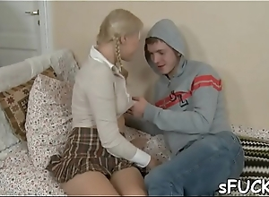 New teen got drilled wildly