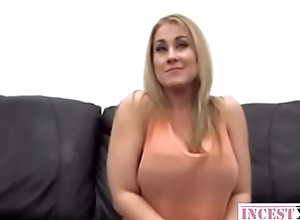 Blonde MILF with big-tits fucks like expert - more in incestx.com