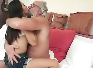 Elderly Man Samples a Young Cutie - Watch Pt 2 At MyLocalCamGirls.com