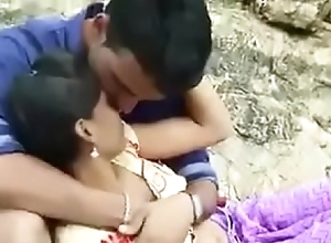 Hot desi couple titty pressing