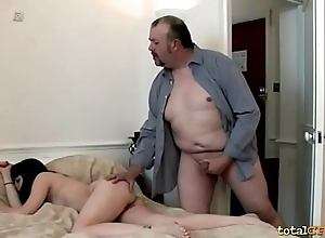 Unwitting Fat Guy Stodgy a Nice Handjob