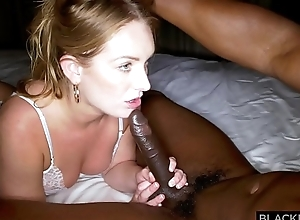 BLACKEDRAW Blonde girlfriend with HUGE ass prefers black guys