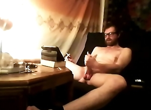 Cumming observing my own video!